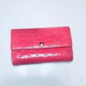[NEW] Patent Leather Monogram Wallet